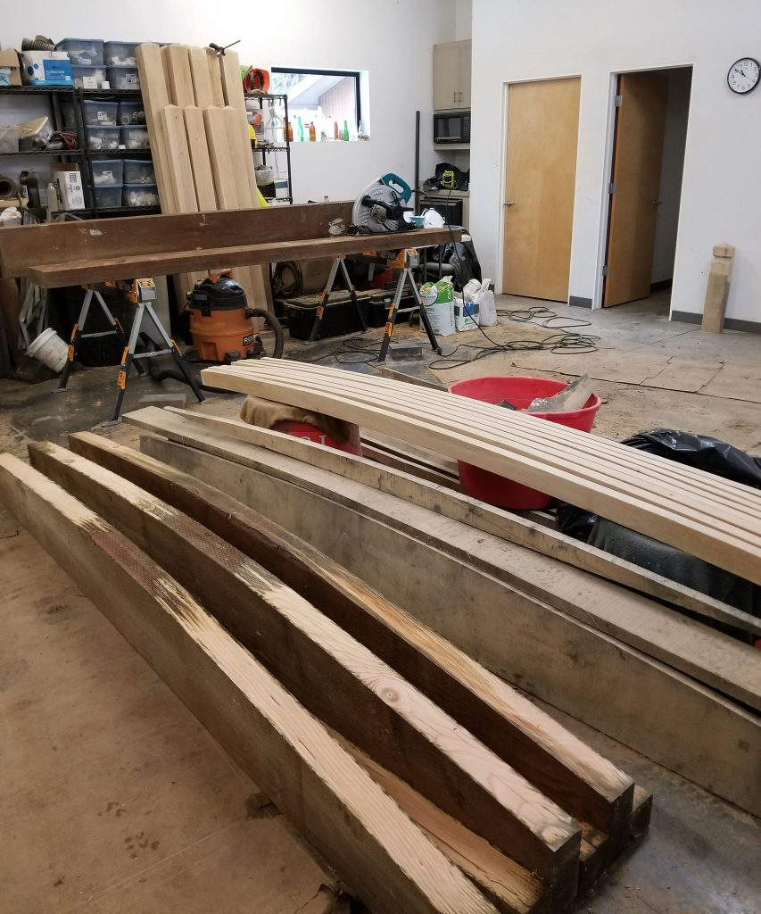 seasoning lumber